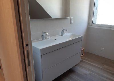 Fabrication salle de bains DELACROIX