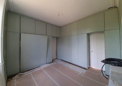 Médium laqué Vert Céladon par nos soins chambre lit escamotable
