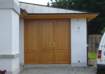 Menuiserie Delacroix portes de garage