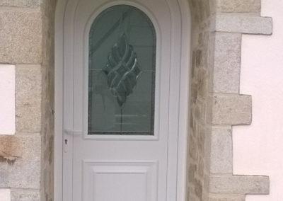 Menuiserie Delacroix porte entrée